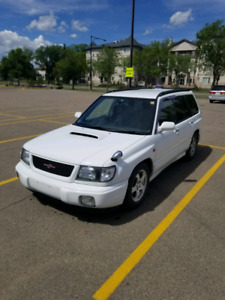 Jdm subaru forester s/tb manual