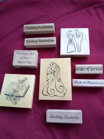 Craft stamps for weddings