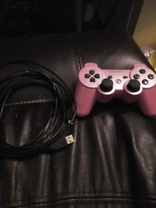 Pink Ps3 controller