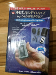 Cordless wet/dry rechargeable shaver