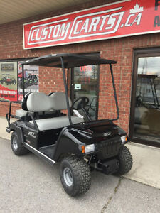 2017 CLUB CAR XRT Golf Cart Gas Powered - 4Passenger Cart EFI