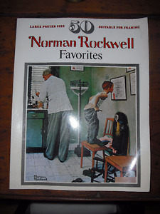 NORMAN ROCKWELL BOOK OF PRINTS