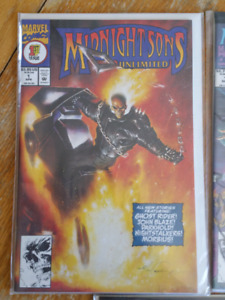 Ghost Rider and Midnight Sons Comics