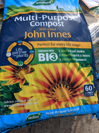 FREE SAME DAY DELIVERY John Innes infused Westland compost