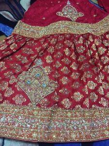 Gorgeous BRIDAL    lehnga (gharara) Cambridge Kitchener Area image 4