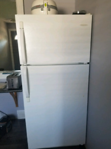 Fridge and stove used condition