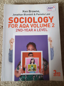 A Level Sociology year 2 book