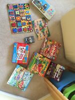 Board games, games and puzzles
