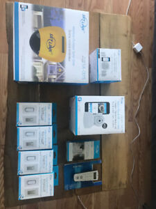 DOMOTIQUE ALARME SKYLINKHOME IPHONE ANDROID IFTTT