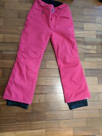 Skiing trousers girls Roxy