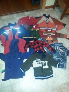CHEAP VARIETY OF BOYS CLOTHES SIZE 2T - 3T