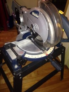 Electric saw with stand