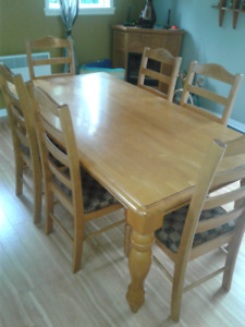 Mobilier salle a manger set table chaises