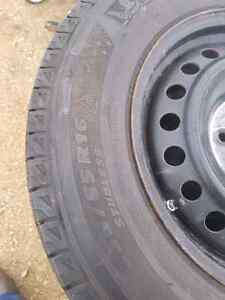 235 65R16 steel rims and tires