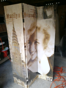 Marilyn Monroe Privacy / Wall Divider