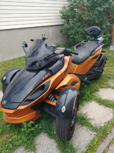 Canam Spyder RSS SE Semi Automatique