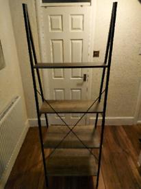 Ladder shelving unit for sale (excellent condition)