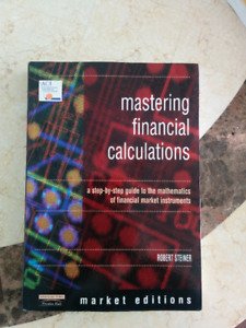 Mastering Financial Calculations by Robert Steiner