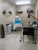 Esthetician room for rent