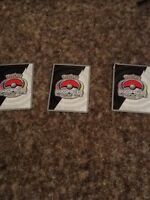 Pokemon case with 3 cards