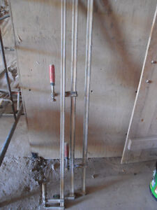 Set of 3 clamps