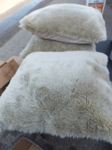 FOR SALE 3 Plush Pillows in excellent condition. $25