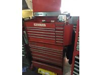 Snap on roll cab and top box