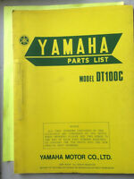 1974 Yamaha DT100C Parts List