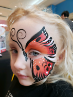 Face painting, games, caricatures, balloon twisting, magic show