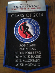 ☆NHL HOCKEY HALL OF FAME BANNER ☆CLASS OF 2014 ☆