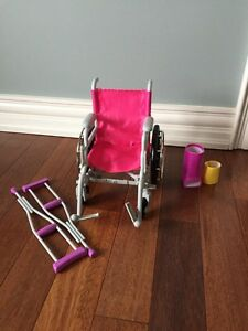 Our Generation Wheel chair and accessories