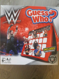 Guess who game. Wrestling