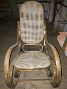 rocking chair vintage 1970's