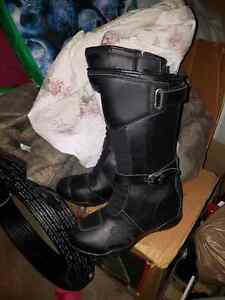 Women's Motorcycle Boots Size 9
