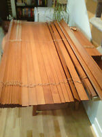 Wooden wall blinds