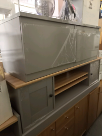 TV Storage Units wide only £120. RBW assembled Clearance Outlet Leices