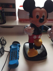 Mickey mouse backpack phone