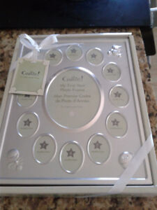 Brand new in box my 1st year photo frame-13 month slots