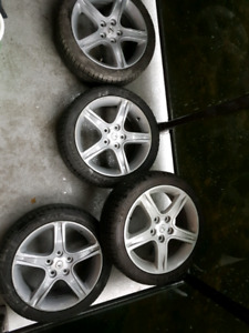 Toyota Lexus rims with tires