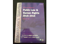 Public law & human right 2015-2016