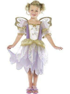 er Prinzessin Fee Kleid LILA Kostüm (Lila Fee Prinzessin Kostüm)