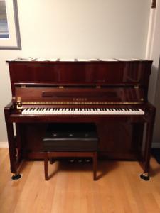 "48"" Upright Piano"