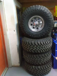 """37"""" TIRES AND RIMS FOR SALE"""