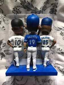 Blue jays bobble head trio  Stratford Kitchener Area image 1