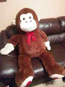 Giant Stuffed Monkey