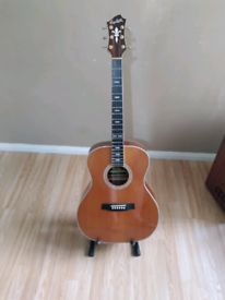 Acoustic guitar immaculate condition.