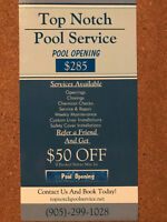 $50 OFF swimming pool opening !!!!