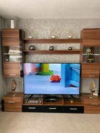 Modern Wall Unit TV Display Living Room Unit High Gloss Furniture