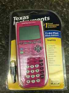 New Pink Texas Instrument TI-84 graphing Silver Edition Gatineau Ottawa / Gatineau Area image 1