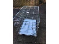 Medium/large Dog puppy training crate